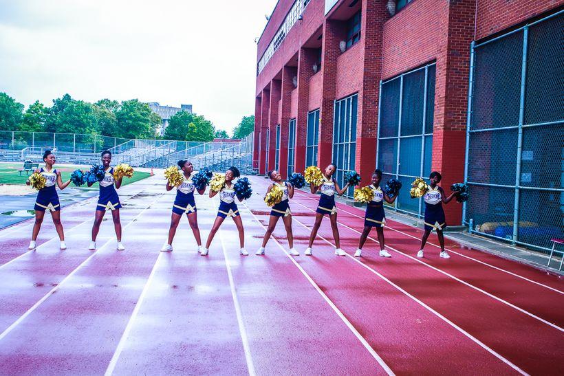 Brooklyn Titans Cheerleaders