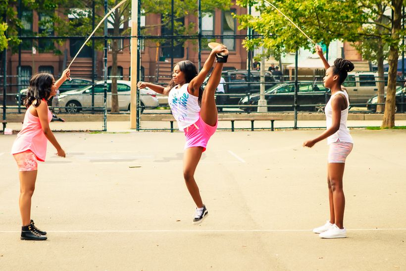 Jammin' Jumpers double dutch team