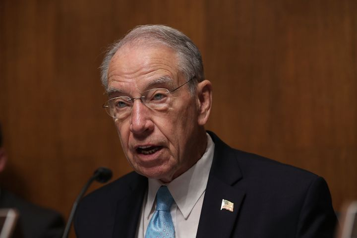 Sen. Chuck Grassley (R-Iowa) said Comey's decision to tell Congress about new emails related their investigation of Hillary C