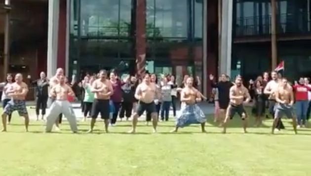 Māori of all ages have posted hakas on