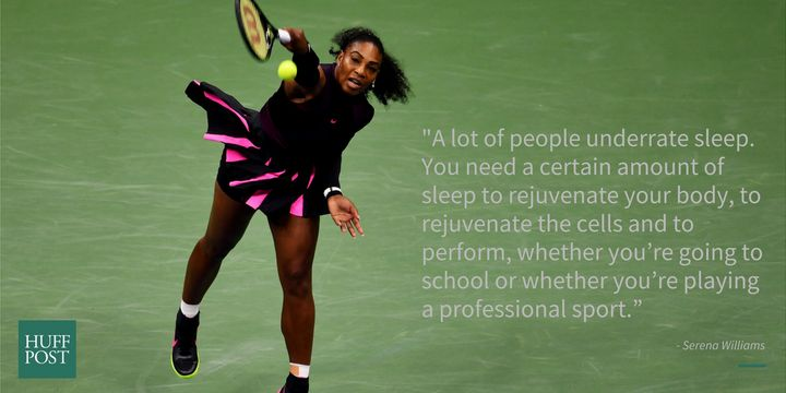 The tennis star told HuffPost in 2012.