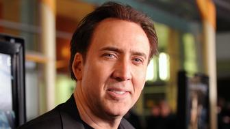 HOLLYWOOD, CA - FEBRUARY 22:  Actor Nicolas Cage arrives at the screening of Summit Entertainment's 'Drive Angry 3D' on February 22, 2011 in Hollywood, California.  (Photo by Jason Merritt/Getty Images)