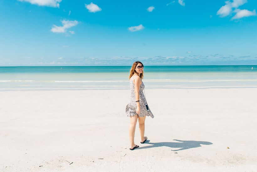 The beautiful Siesta Key Beach