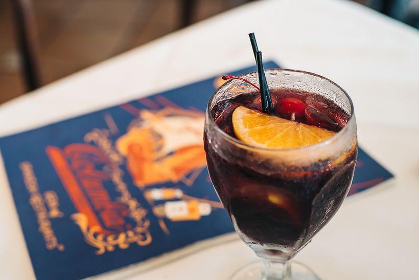 Refreshing Sangria at Columbia restaurant