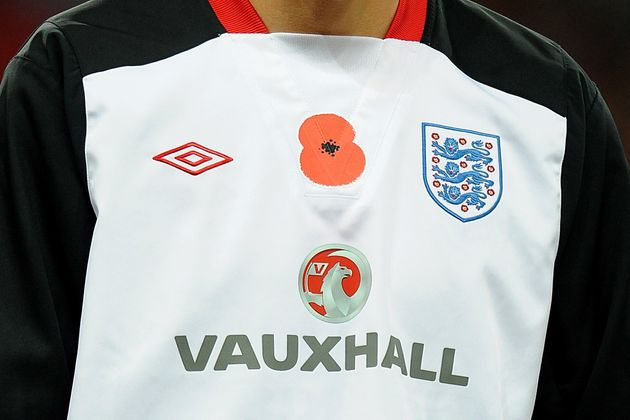 There are questions over whether England footballers will be allowed to wear poppies on 11
