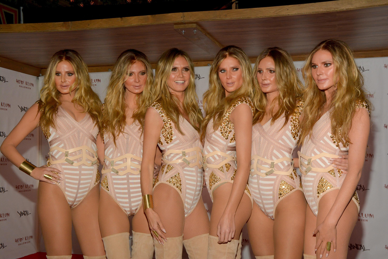 Heidi Klum Just Won Halloween By Cloning