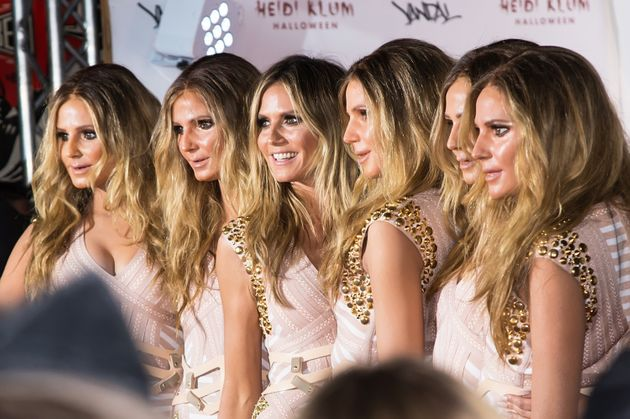Heidi Klum Just Won Halloween By Going Out As Herself (With A Little Help From Five