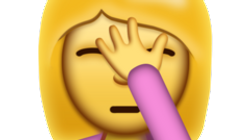 iPhone Facepalm Emoji Arrives Just In Time For U.S.