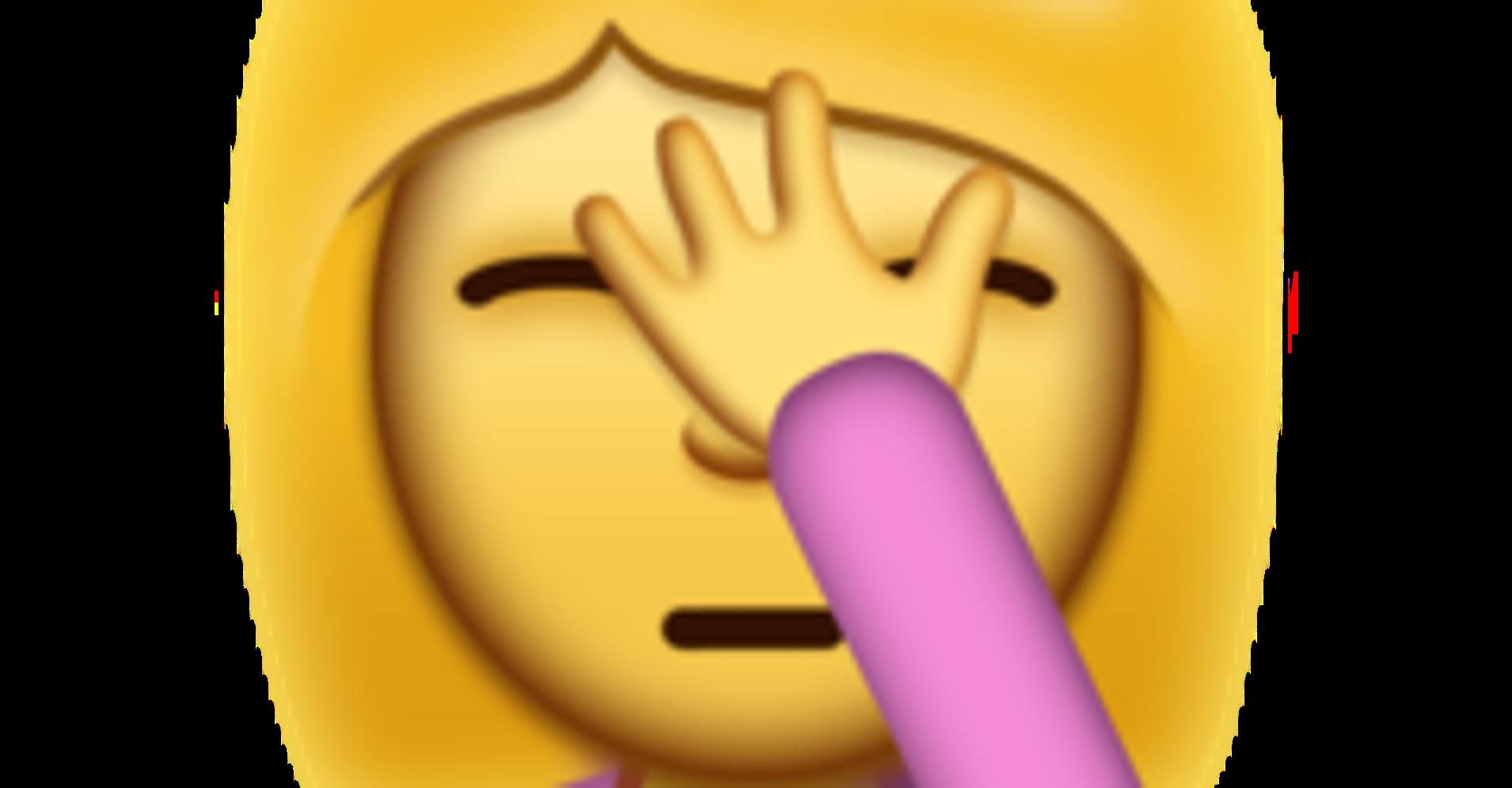 iPhone Facepalm Emoji Arrives Just In Time For U.S ...