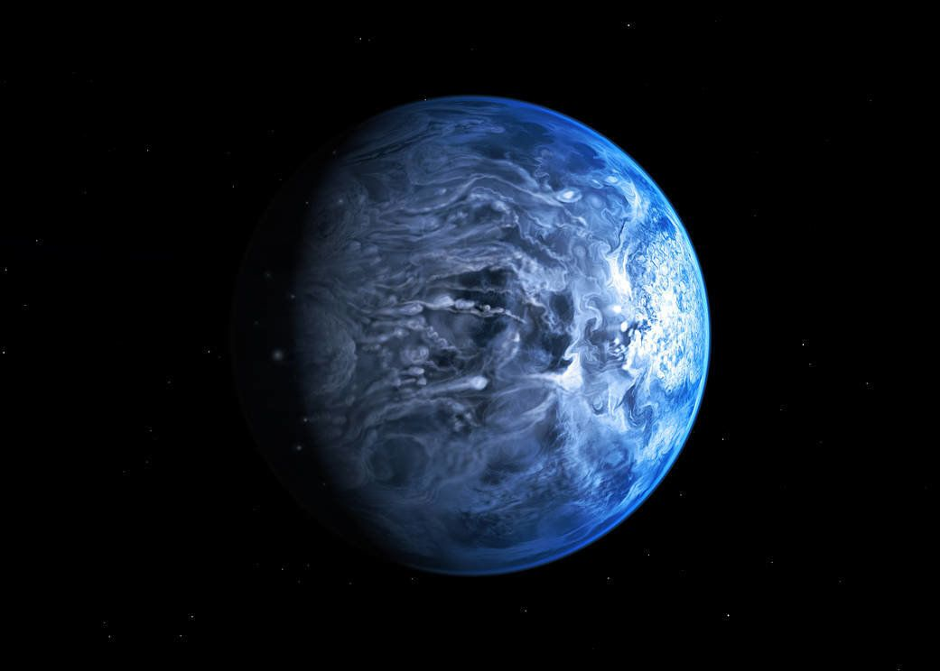 This New Exoplanet Has Supersonic Winds And Rains Shards Of