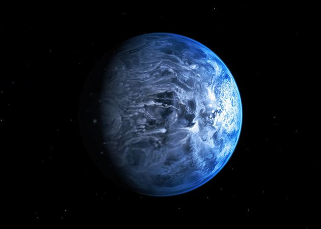 New Exoplanet Has Supersonic Winds And Rains Shards Of