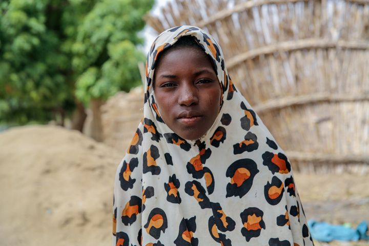 Ramatou, 13, lives in Niger, which was recently named the worst country for girls in a report released by Save the Children.