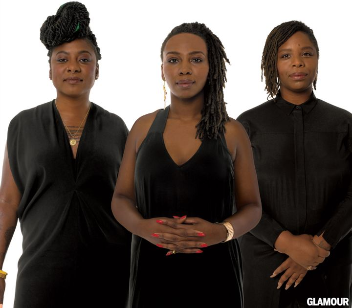 Opal Tometi, Alixia Garza and Patrisse Cullors: founders of BLM.