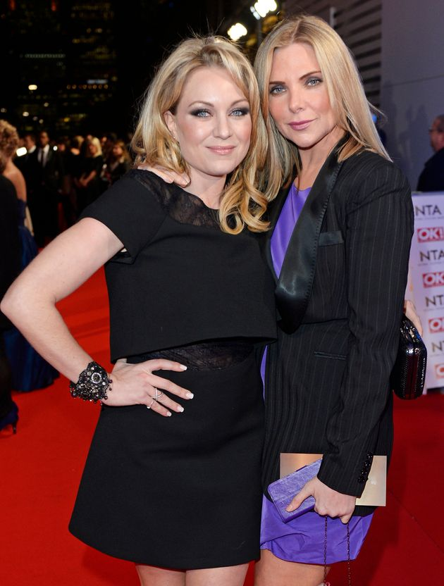 Rita Simons and Samantha Womack, who play Ronnie and Roxie