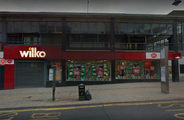 Wilko store in Haymarket, Sheffield, where the incident took