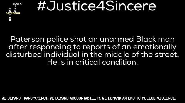 丸腰の黒人男性、2人の息子の目の前で警官に撃たれ重体