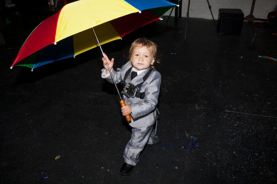 "Marni Kotak, ""Raising Baby X: Singin' Rain — Ajax's 2nd Birthday Party,"" performance, 2013"
