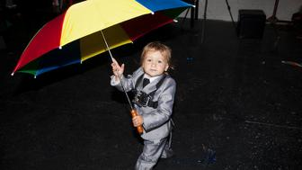 Marni Kotak Raising Baby X Singin Rain  Ajaxs 2nd Birthday Party performance 2013