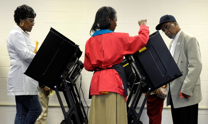 Republican efforts to stymie black voters may be working in North Carolina.