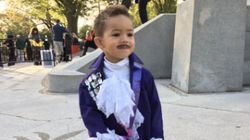 Obama Sang 'Purple Rain' To This Kid Dressed As