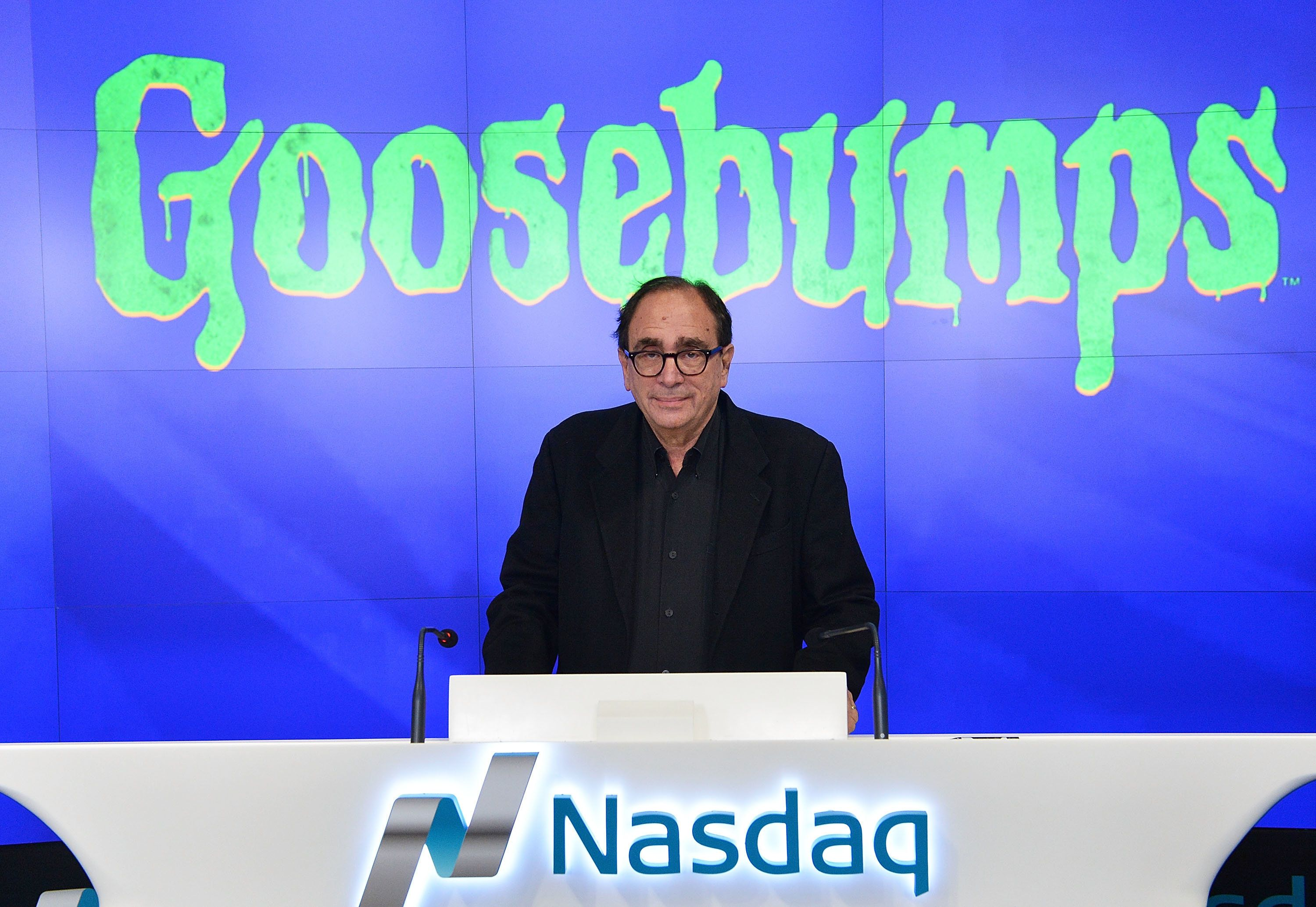 what inspired r l stine to write books