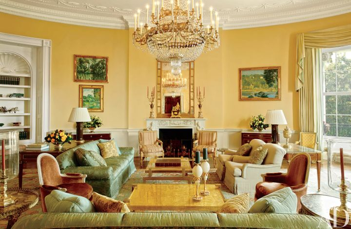 House Decor of course the obamas' white house decor is as cool as they are