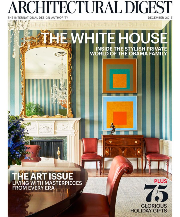 Of course the obamas 39 white house decor is as cool as they for Interior digest