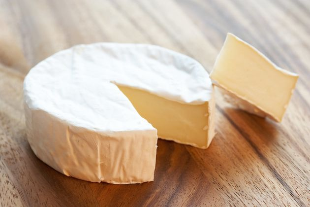 A wheel of Brie
