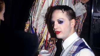 Michael Alig at Club USA, New York, May 1, 1993. (Photo by Steve Eichner/Getty Images)