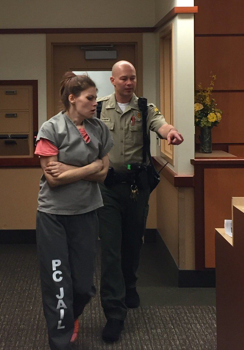 Ashlee Hutt 24 is accused of injecting her three children ages 2 3 and 6 with heroin