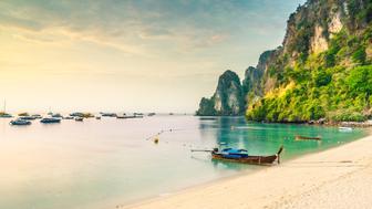 Beach in Krabi of Thailand