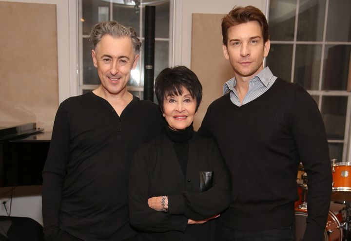 """Alan Cumming,Chita Rivera and Andy Karl rehearse for """"Chita: Nowadays,"""" which plays Carnegie Hall Nov. 7."""