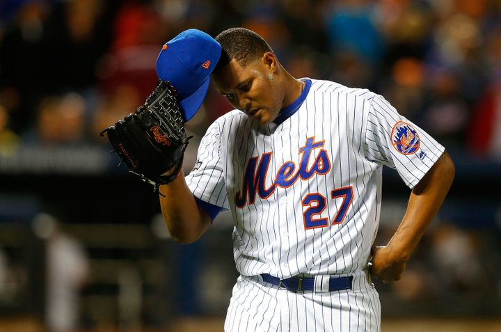 The New York Mets pitcher made $4.1 million this season.