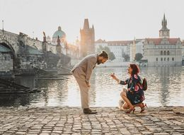 This Woman Spent 2 Years Planning A Picture-Perfect Proposal In Prague
