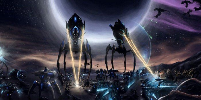 Starcraft II - there's an artificial intelligence that will crush you at this.