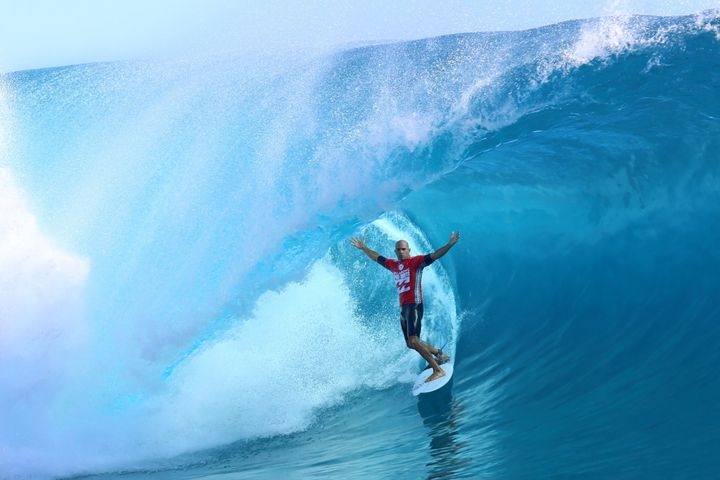 We'll miss you, Kelly Slater.