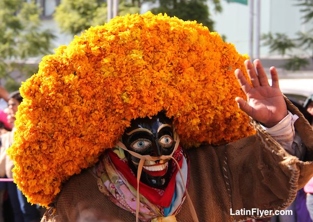 """Marigolds are the official """"flower of the dead"""" in Mexico."""