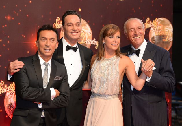 The 'Strictly' judges: Bruno Tonioli, Craig Revel Horwood, Darcey Bussell and Len