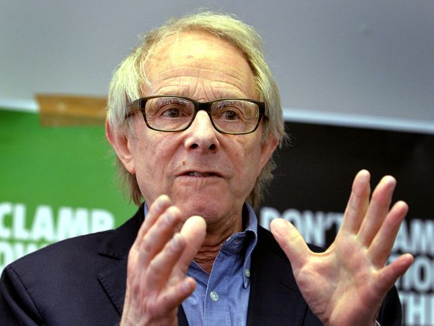 Ken Loach has become embroiled in a war of words with Damian