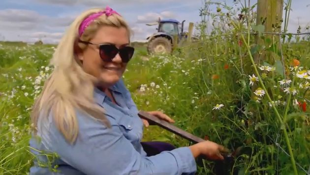 Gemma Collins can't seem to master this rural