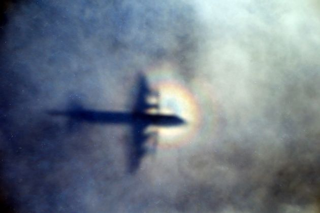 A plane searching for the missing