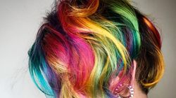 Yes, Lisa Frank Hair Is A Trend That Is Actually