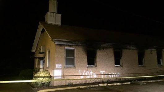 Mississippi church burned