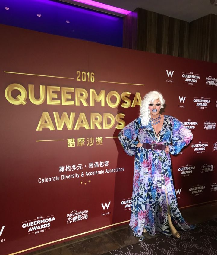 HuffPost Blogger Pollo Del Mar Attends Taiwan's First-Annual Queermosa Awards.