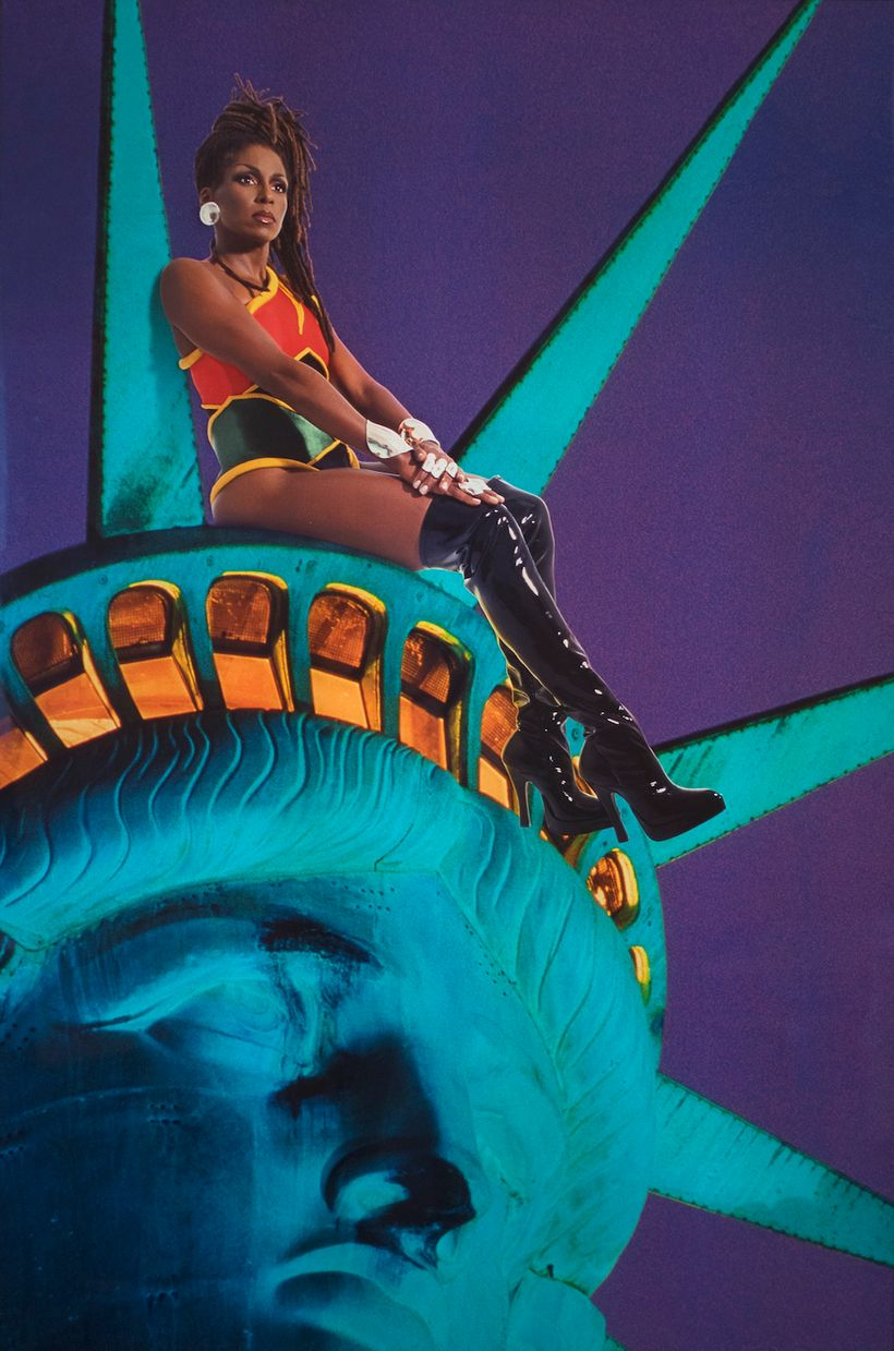 RENEE COX, CHILLIN' WITH LIBERTY, 1998
