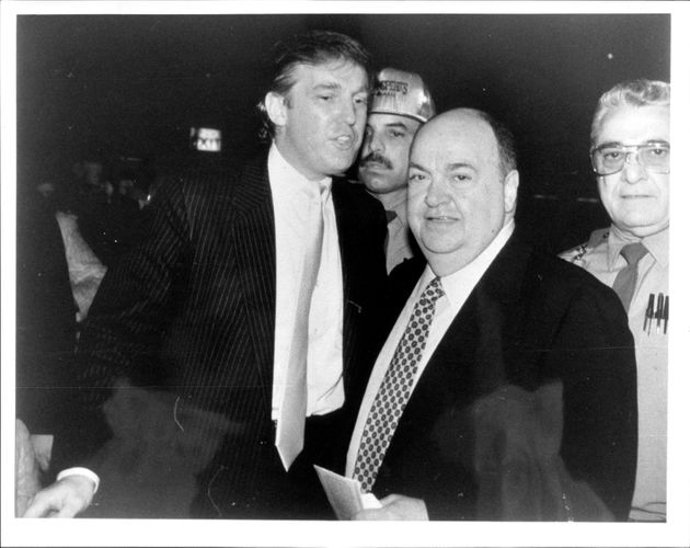 Here's Trump and Libutti in September 1994. This is the guy Trump said he wouldn't even know what he...