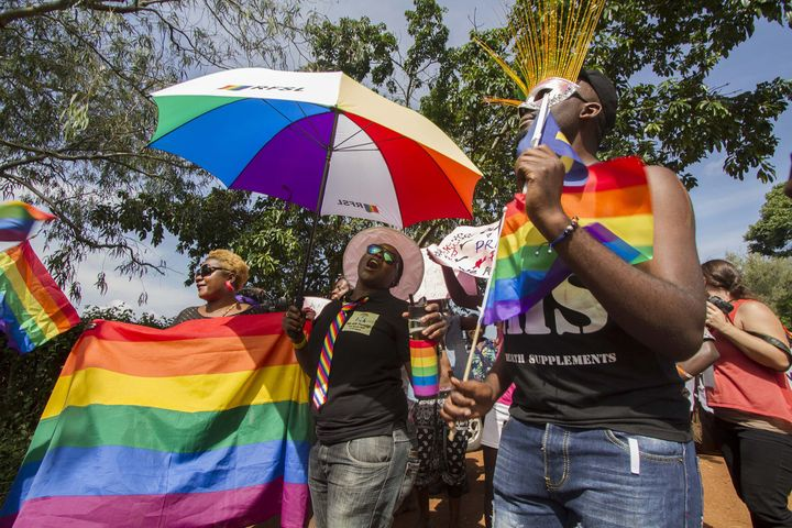 Uganda is one of 36 countries in Africa where homosexuality is illegal.