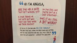 Smart Poster Campaign Is Giving Women A Safe Way To Get Out Of A