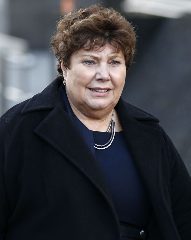 Marie Rimmer outside Glasgow Sheriff