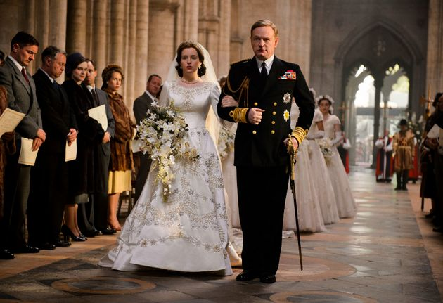 Jared Harris steals the first couple of episodes as the ailing King George